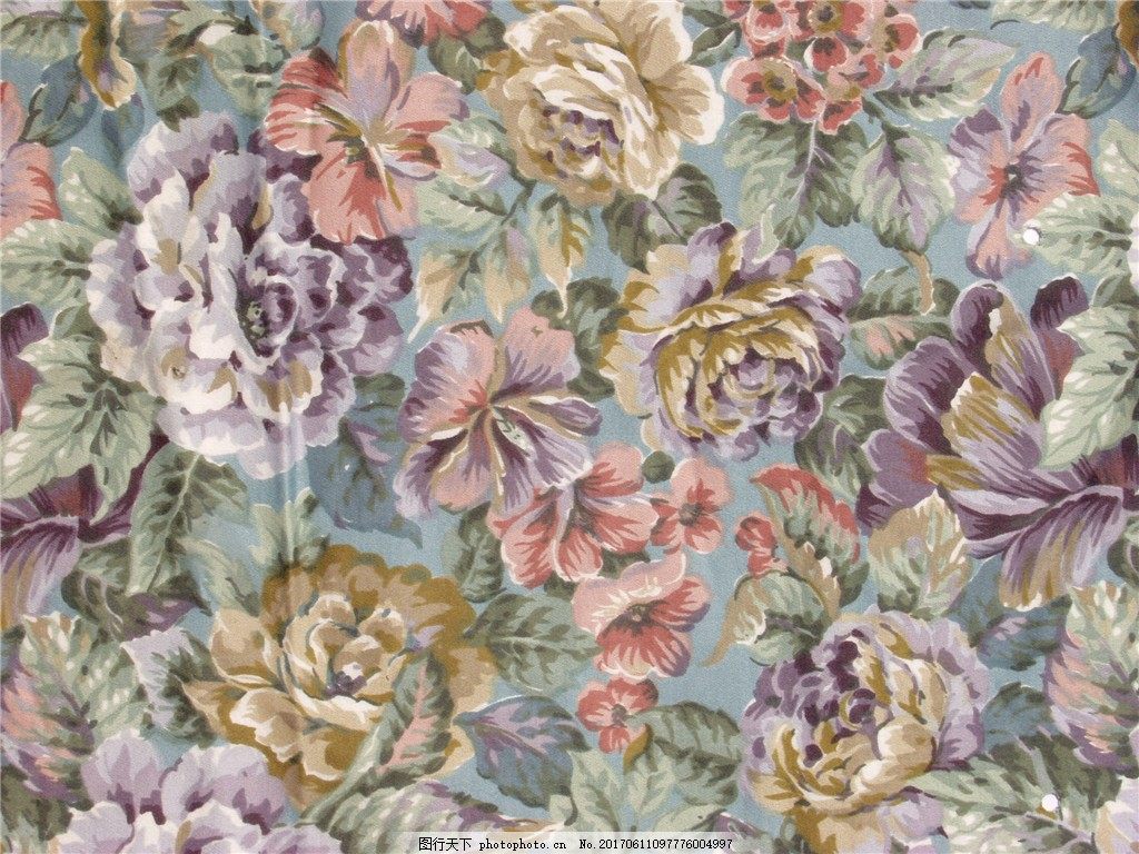 欧式花纹布艺壁纸图案图片素材下载