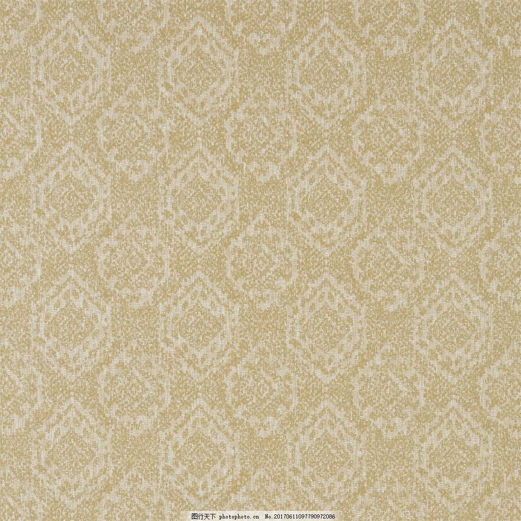 精美黄色花纹壁纸 中式花纹背景 壁纸素材 无缝壁纸素材 欧式花纹