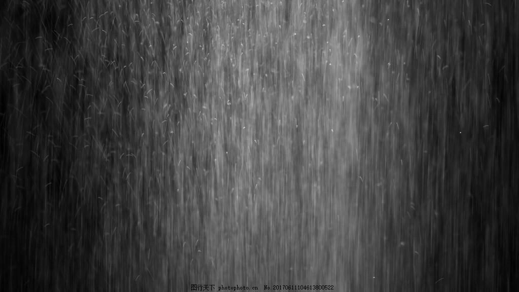 图片合成视频_下雨场景视频素材图片_合成背景_实拍视频_图行天下图库