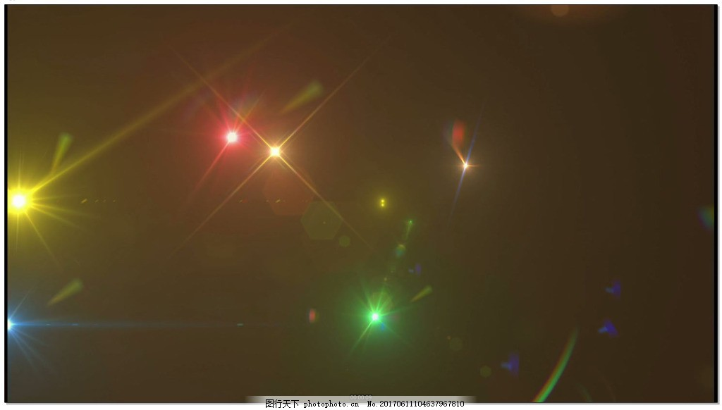 粒子炫光LED循环背景视频素材 光斑 光效 粒子光效背景 光效转场