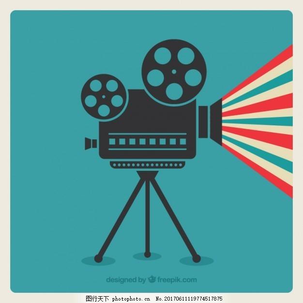 电影摄影机 复古 相机 视频 媒体 摄像机 复古复古 老式相机