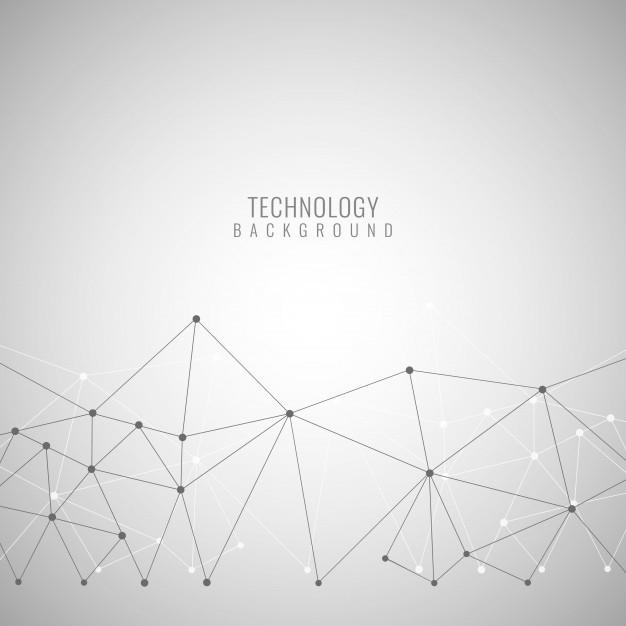 带网点的灰色技术背景
