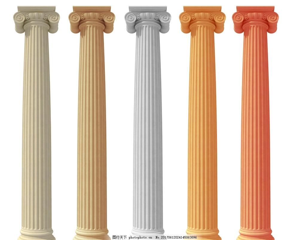 罗马柱,欧式罗马柱 石膏罗马柱 石膏线条 罗马柱线条
