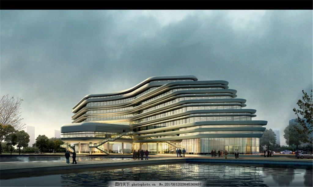 城市创意建筑设计图