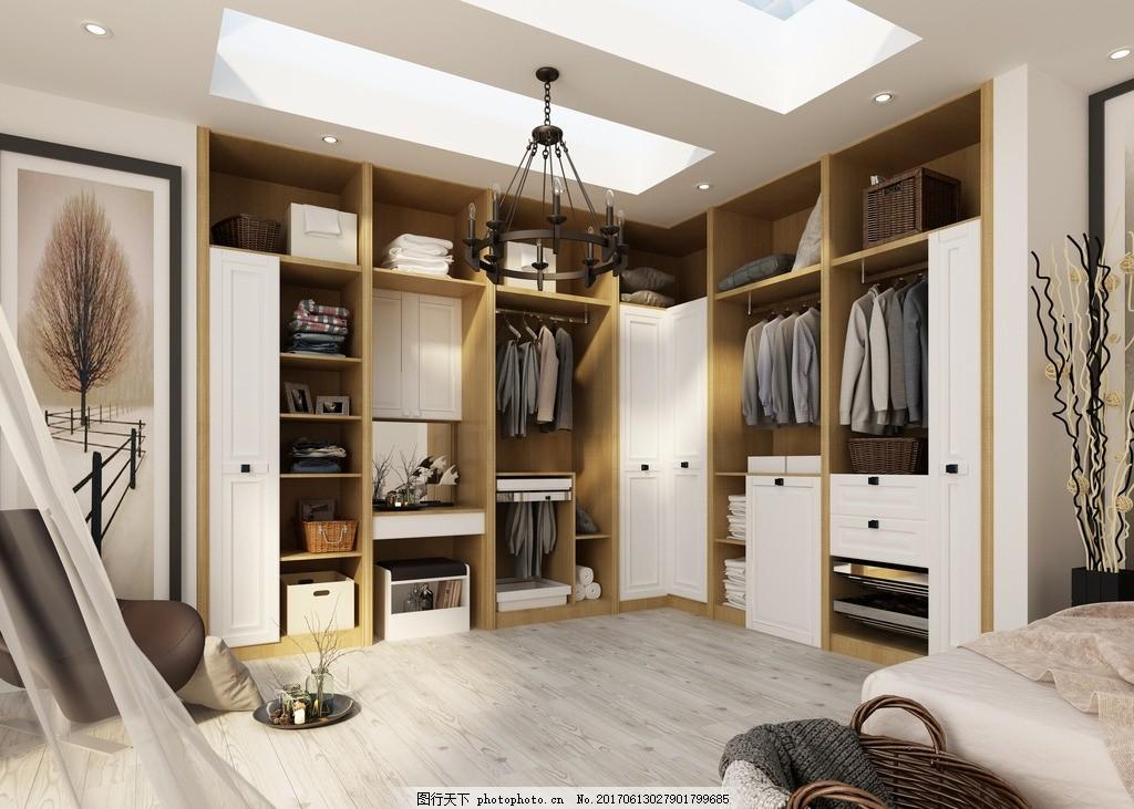 定制家具效果图 衣柜 橱柜 室内 装饰