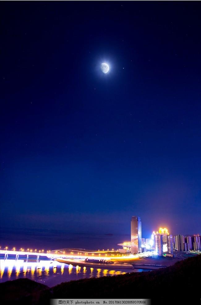 大连跨海大桥夜景