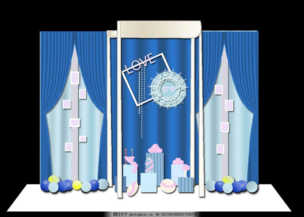 淡蓝色婚礼 深蓝色婚礼 梦幻婚礼 星空婚礼 高端婚礼 大气婚礼 欧式