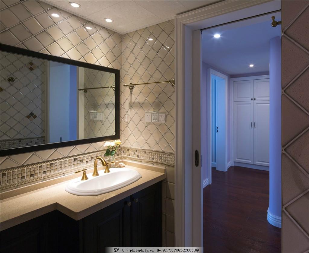 卫生间装修效果图 室内设计 装修效果图图片免费下载 jpg 家居 时尚