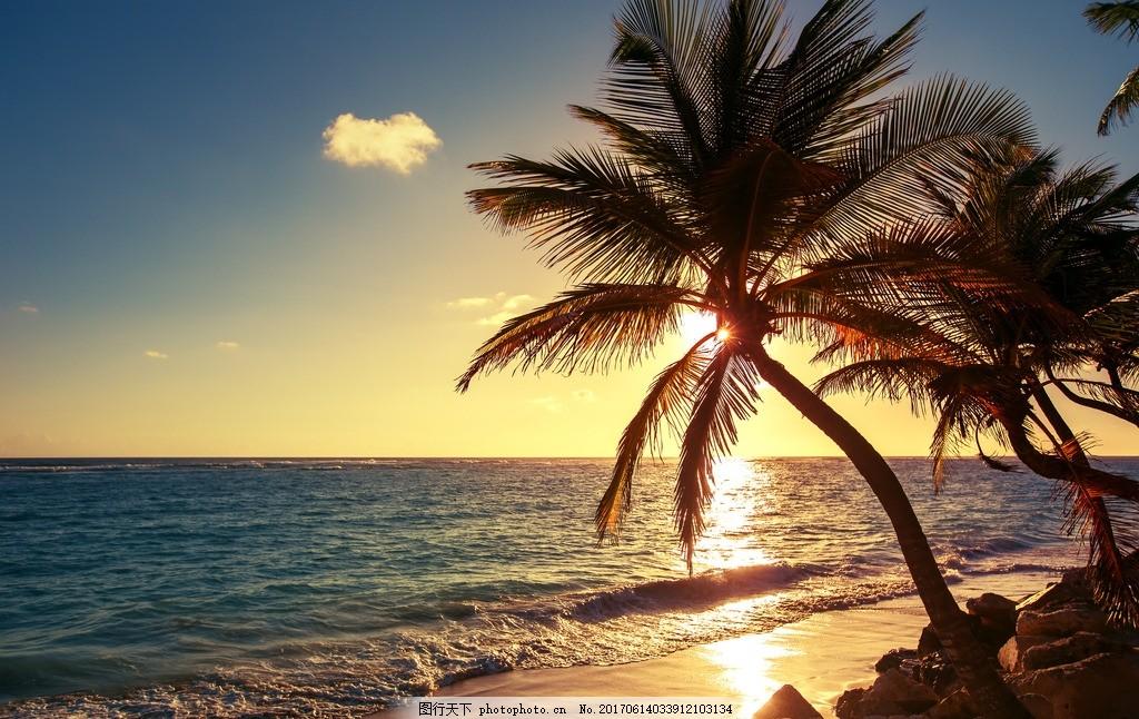 三亚海边 唯美 风景 风光 旅行 自然 海南 大海 海景 椰子树