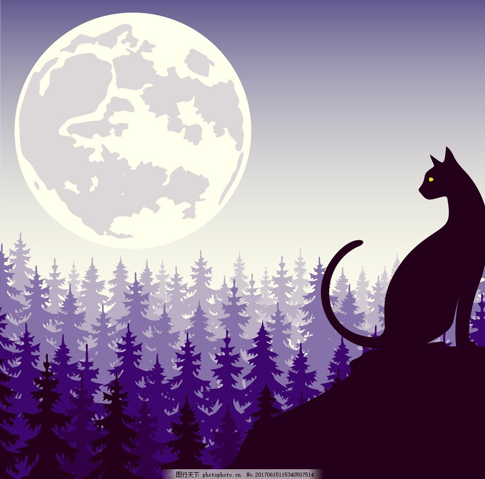 夜猫 十二星座 银河背景 流星雨 太空 天文景观 银河星空 星球星系