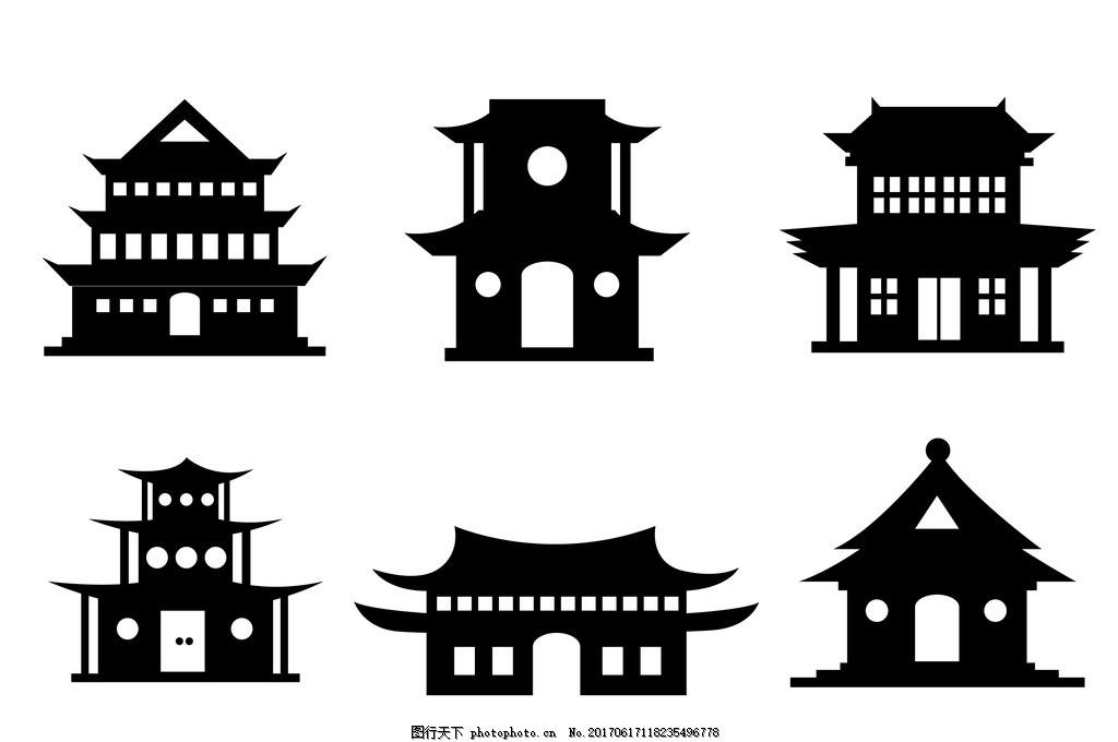 唐人街 中国元素 中国建筑 建筑 古代房子 房子 古建筑 古建筑元素