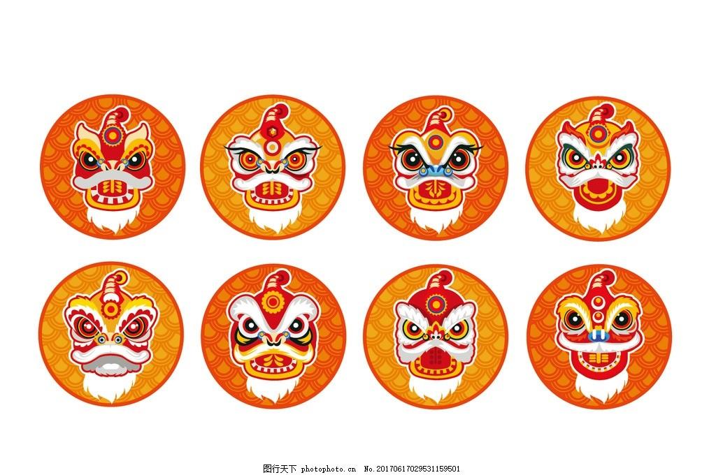 狮子 狮龙 中国风 传统文化 中国文化 文化艺术 古建筑 古建筑元素