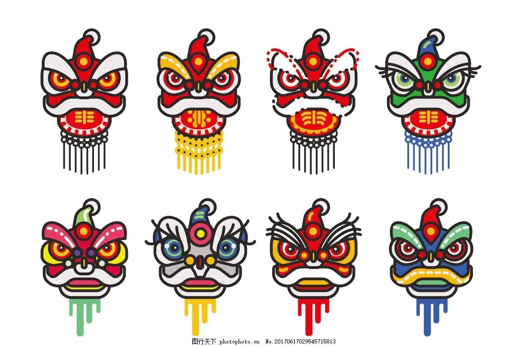 舞狮 中国风 传统文化 中国文化 文化艺术 古建筑 古建筑元素 中国