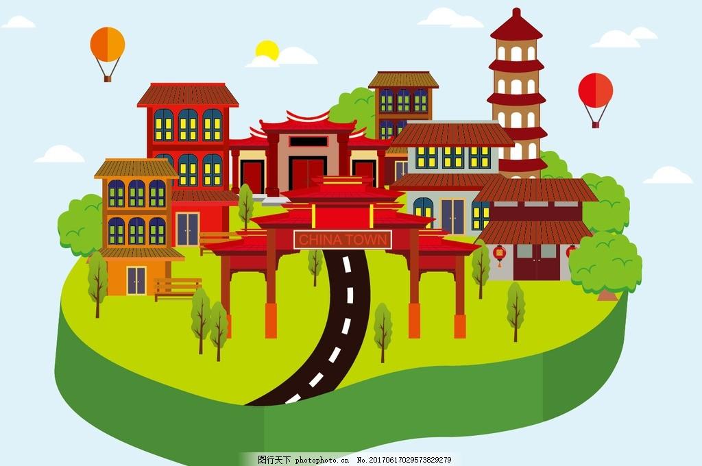 中国元素 素 中国元素 中国建筑 建筑 古代房子 房子 古建筑 古建筑元