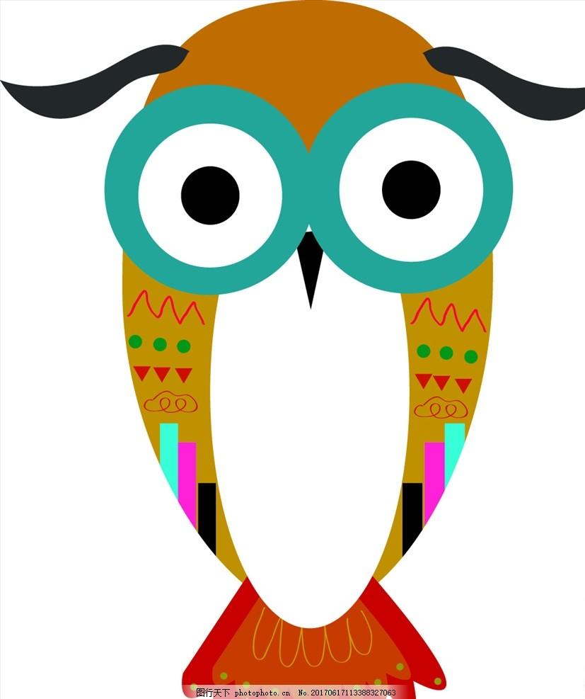 动物园 卡通 可爱动物 小动物 动物儿童画 儿童画 儿童简笔画 简笔画