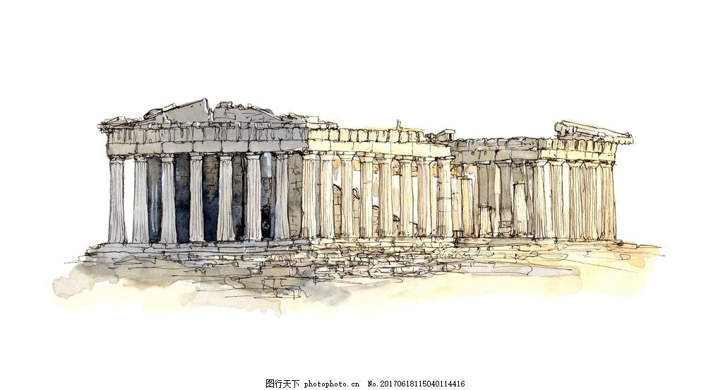 罗马风格底纹