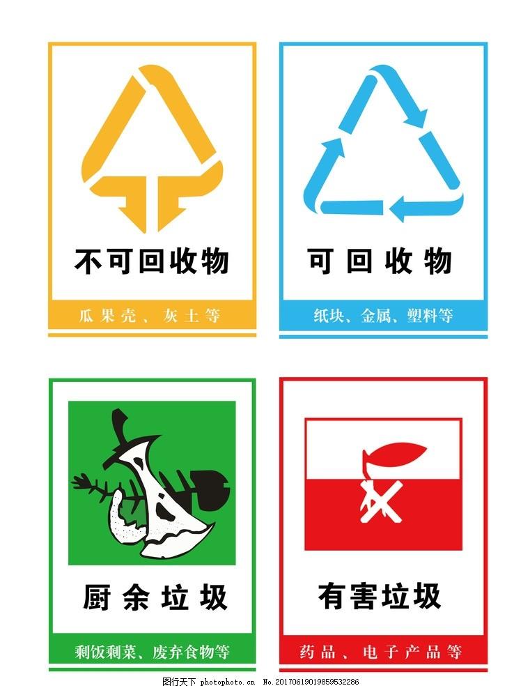 垃圾分类的标志