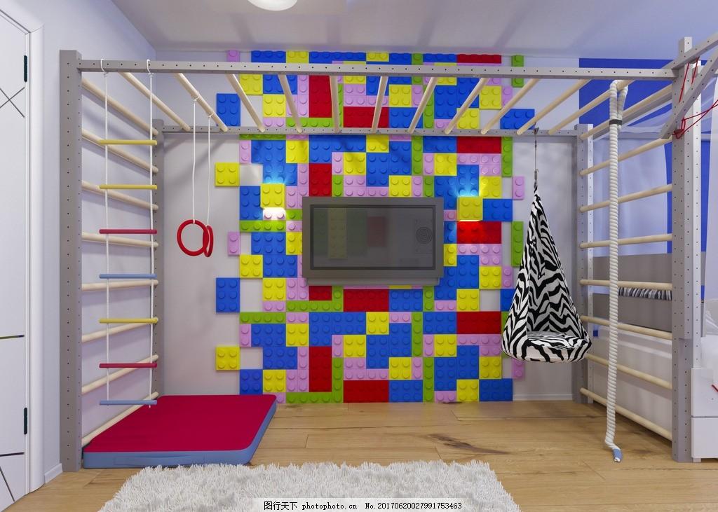 儿童活动室 装饰手工区 儿童天地 早教中心 幼儿园 儿童乐园 儿童游戏
