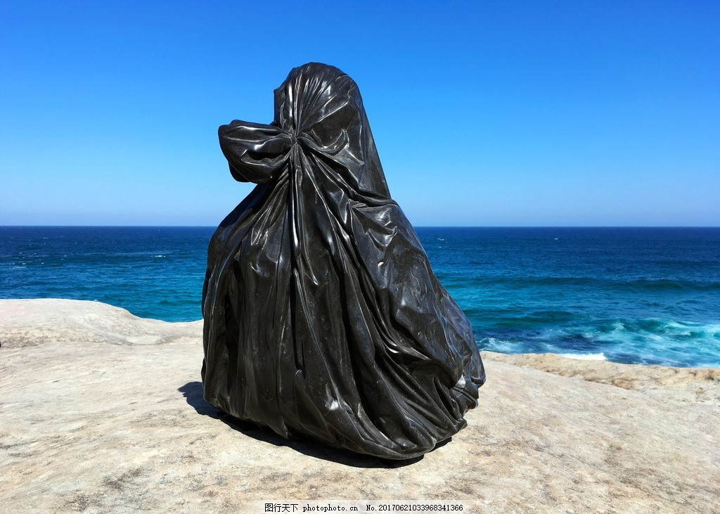 悉尼海滩公共艺术 雕塑 装置艺术 人像 摄影 国外旅游