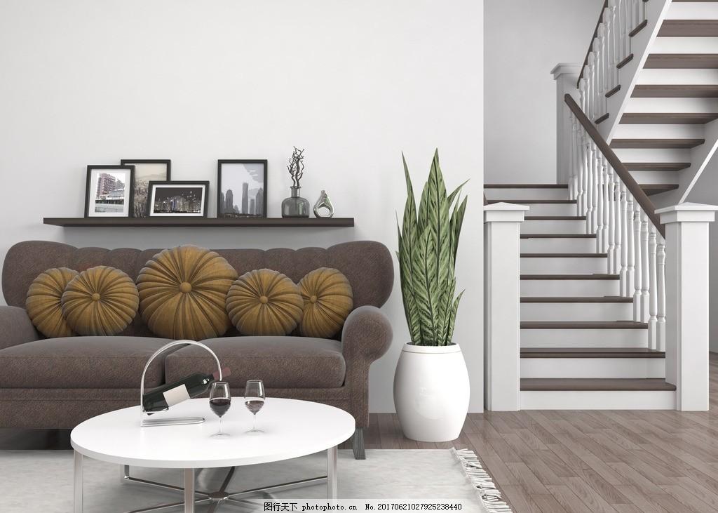 楼梯 沙发 室内设计 装饰 装修 家装        别墅 洋房 欧式风格 设计
