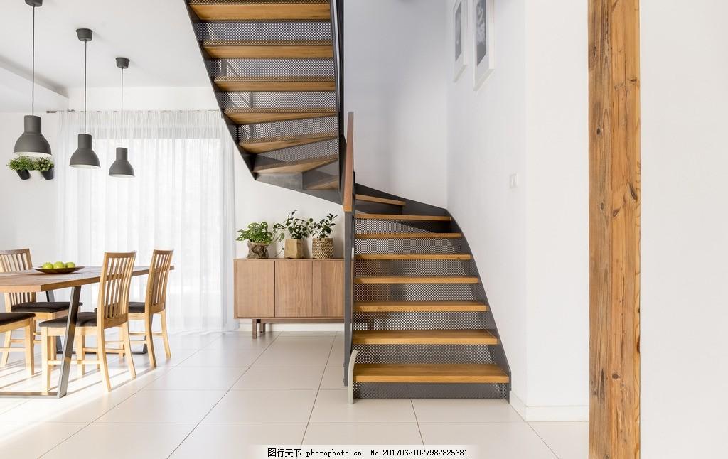 楼梯 餐台 沙发 室内设计 装饰 装修 家装        别墅 洋房 大气