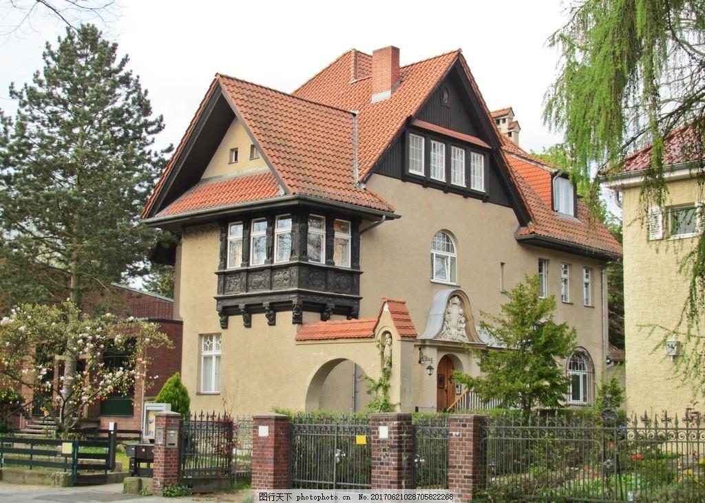 国外别墅 欧式风格 建筑 欧式建筑 别墅效果图 摄影 建筑园林