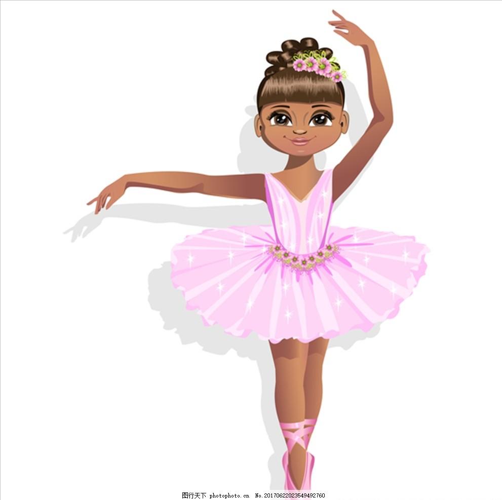 卡通儿童 可爱女孩 人物 儿童 卡通儿童 设计 人物图库 儿童幼儿 eps