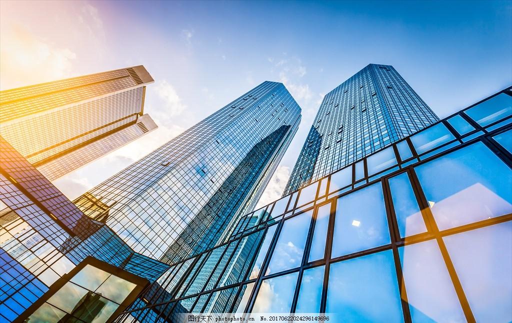 城市建筑仰视 城市建筑 建筑物仰视 城市高楼大厦 城市高楼建筑 城市