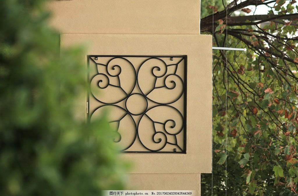 欧式花纹 欧式墙 欧式花纹砖 欧式建筑 摄影作品 摄影 建筑园林 建筑