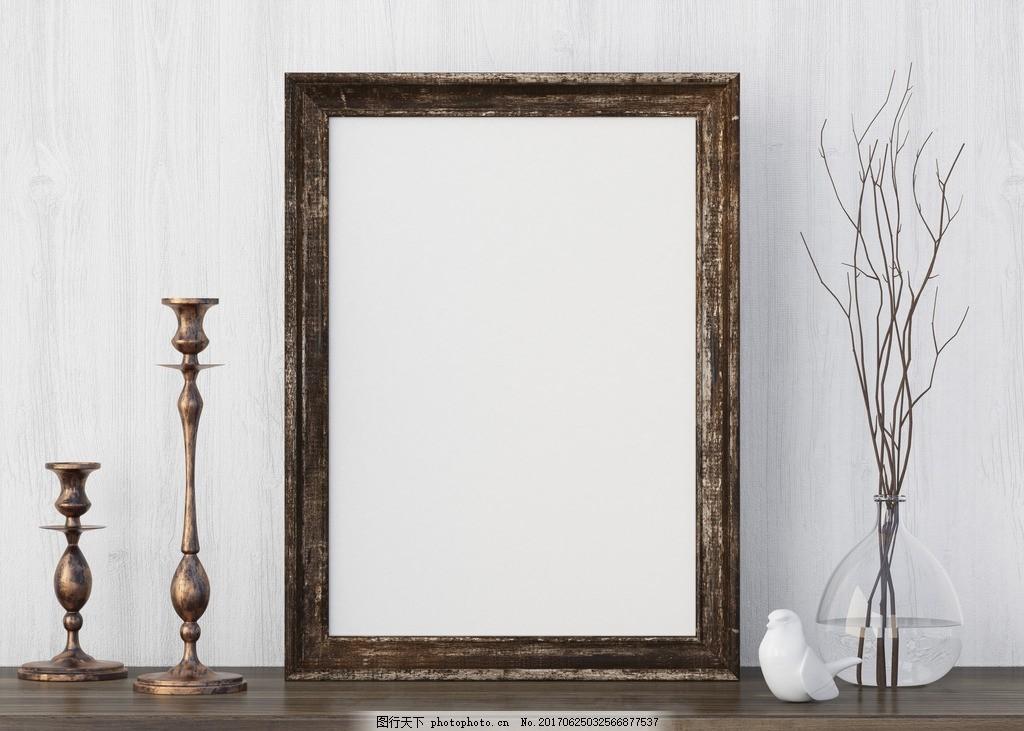 空白相框 立体 家居装饰 相框素材 空白相框素材 摄影模板