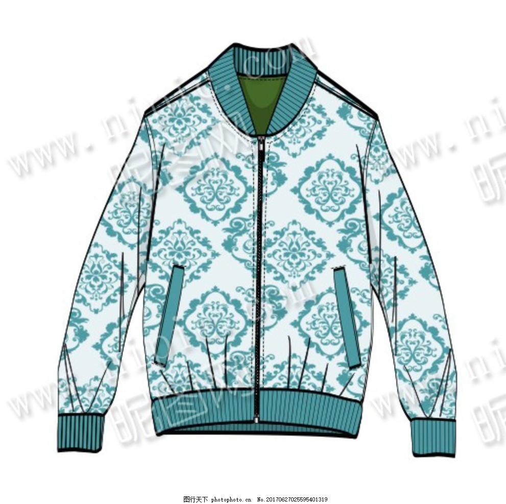 潮流 时尚 前卫 秋冬 秋季 外套 开衫 上衣 夹克 印花 最新服装款式图图片