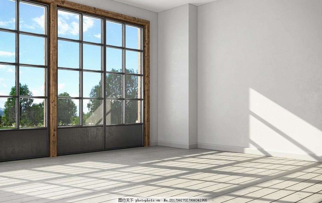 空置 未置物 空余 天花板 木板 现代 简约 欧式 设计 环境设计 室内