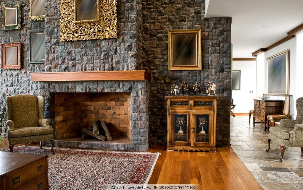 家居壁炉 欧式壁炉 西式壁炉 法式壁炉 客厅壁炉 装修设计 木材 复古