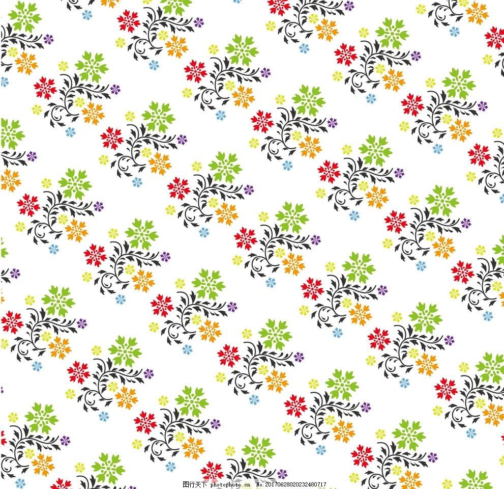 底纹边框 背景底纹  花朵底纹 花纹 枝叶花草 花朵花开花苞 花艺窗帘