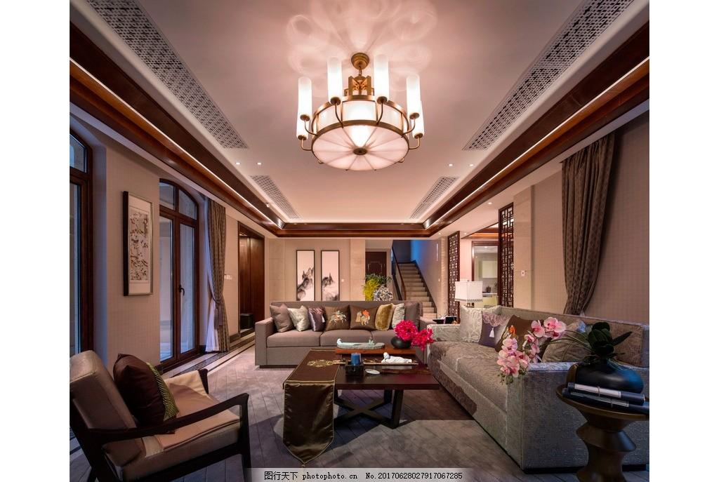 欧式 古典 家装 家装设计 家装风格 居家室内设计 床 茶几 台灯 窗户