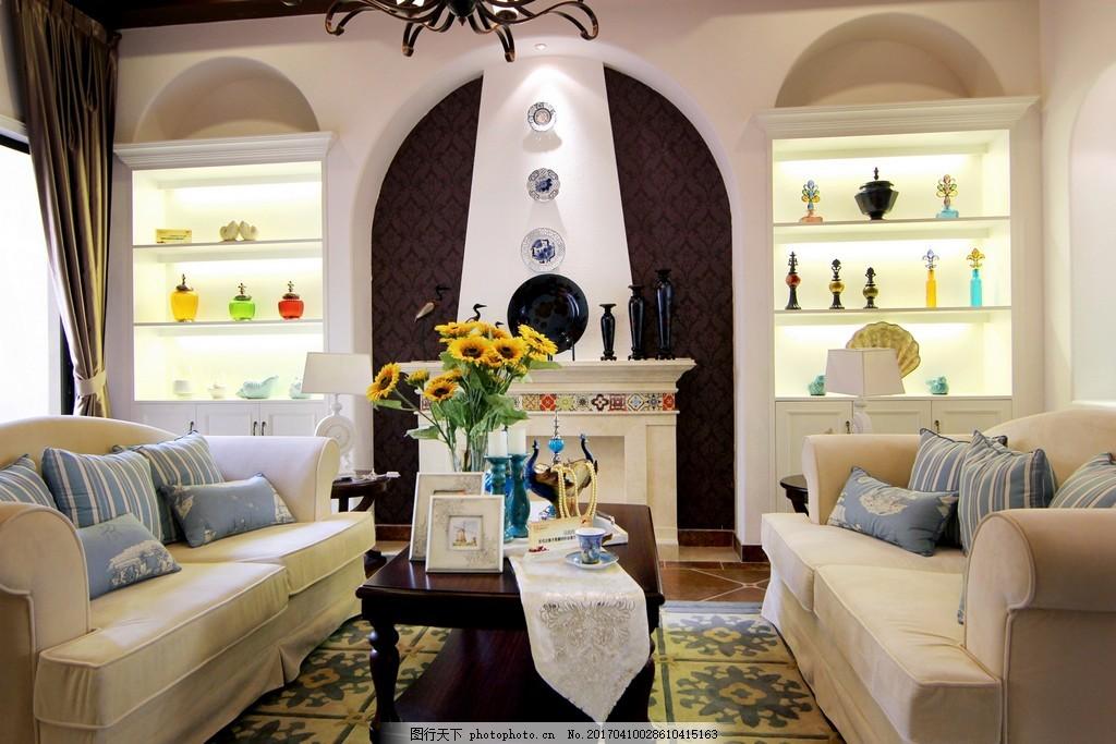 田园风时尚沙发背景墙设计图,家居,家居生活,室内设计,装修,家具,装修设计