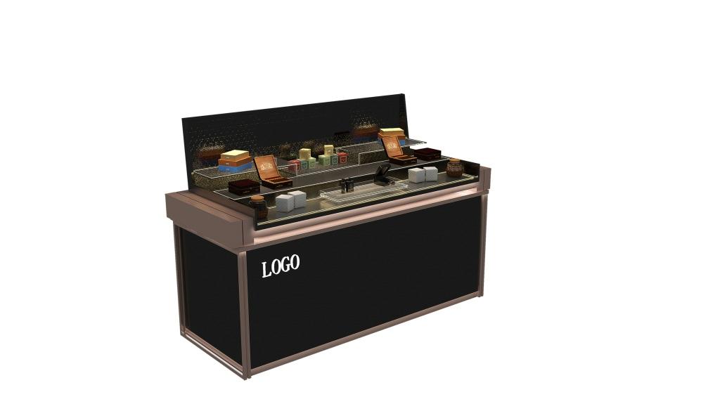 商品展柜3D模型2012版本 展柜 3D模型 展台