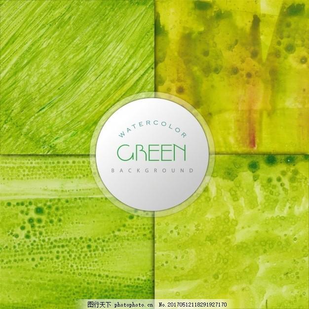 绿色水彩效果背景设计,手,油漆,水彩背景,壁纸,艺术,色彩