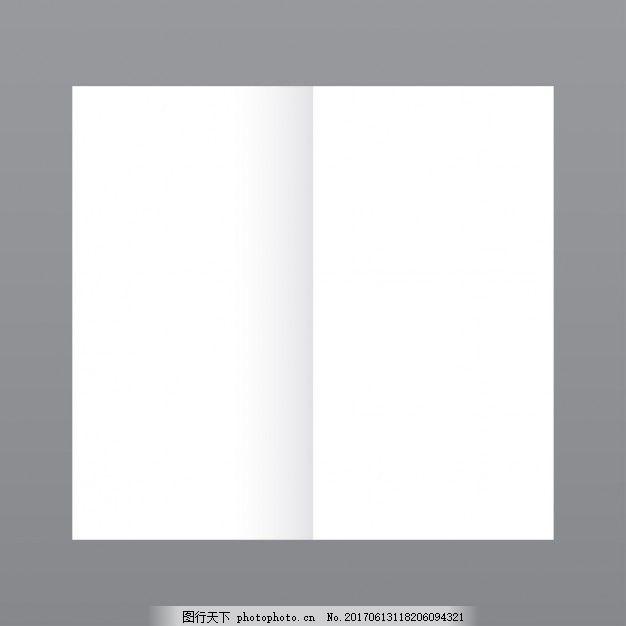 时尚杂志封底图片_简单的打开杂志,灰色背景模型图片_广告背景_底纹边框-图行 ...